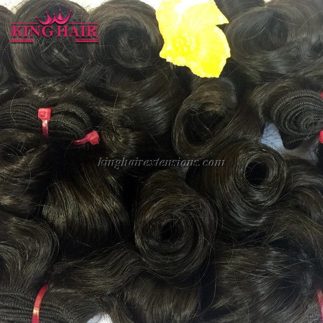 18 inch SUPER DOUBLE VIETNAMESE HAIR CURLY SF4 - King Hair Extensions