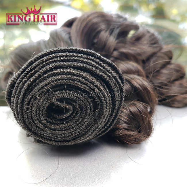 18 inch SUPER DOUBLE VIETNAMESE HAIR CURLY SF1 - King Hair Extensions