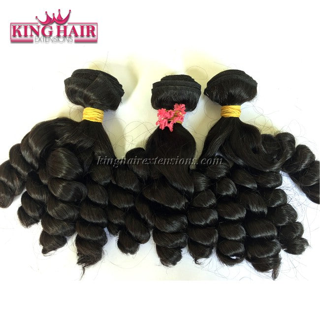 18 inch SUPER DOUBLE VIETNAMESE HAIR CURLY SF1
