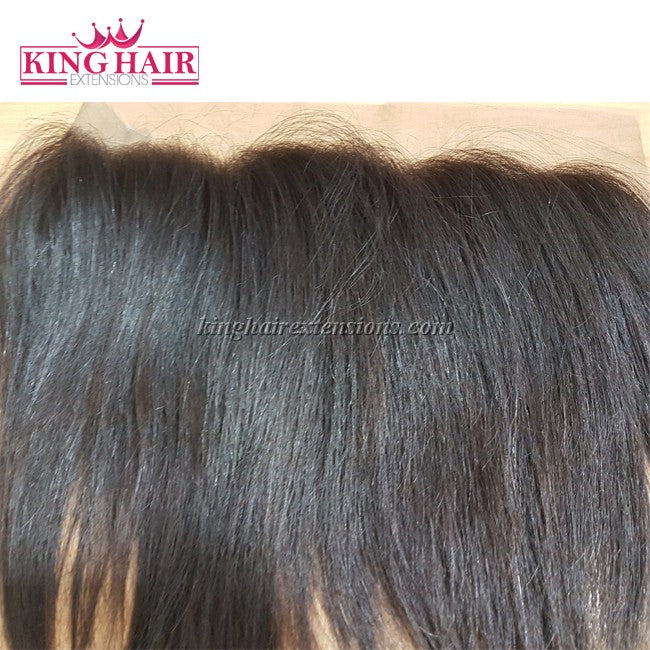 Vietnam Hair Lace Frontal Lace Closure Straight Curly