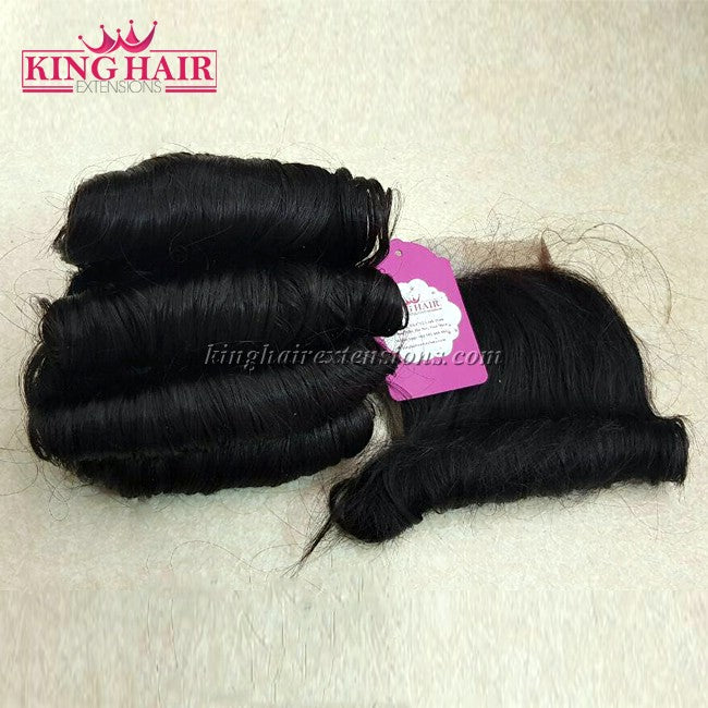 18 INCH VIETNAMESE FUNMI HAIR DOUBLE DRAWN - King Hair Extensions