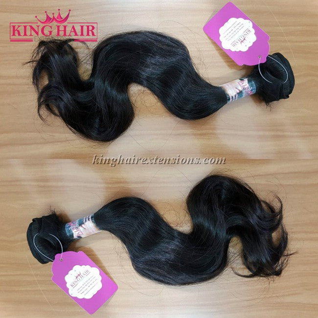 18 INCH VIETNAMESE WAVY HAIR DOUBLE DRAWN - King Hair Extensions