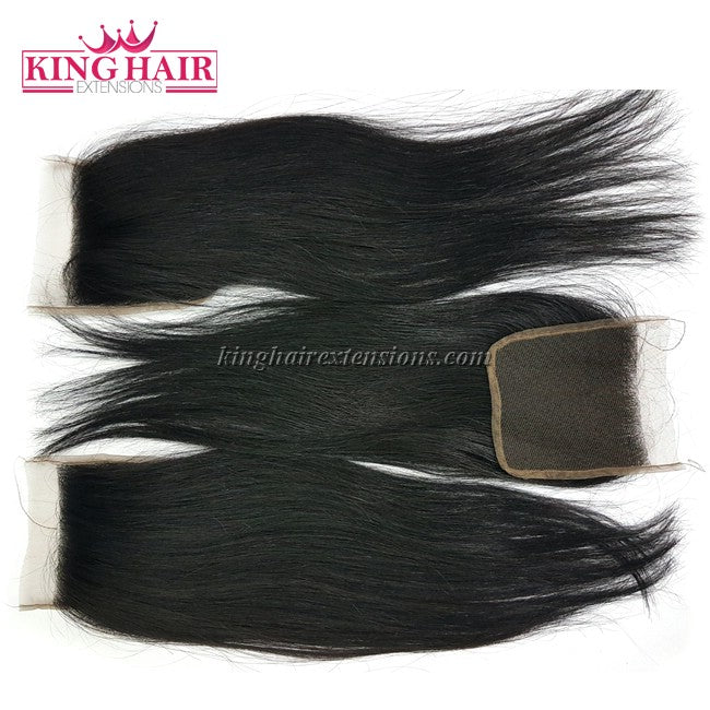 20 inch Vietnam Hair Straight Lace Closure 4x4 - King Hair Extensions
