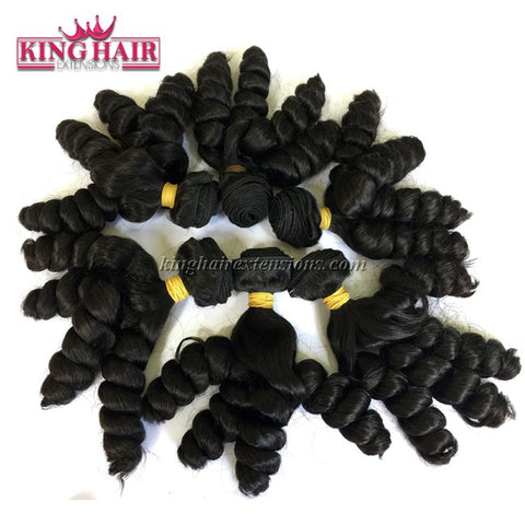 20 inch SUPER DOUBLE VIETNAMESE HAIR CURLY SF1 - King Hair Extensions