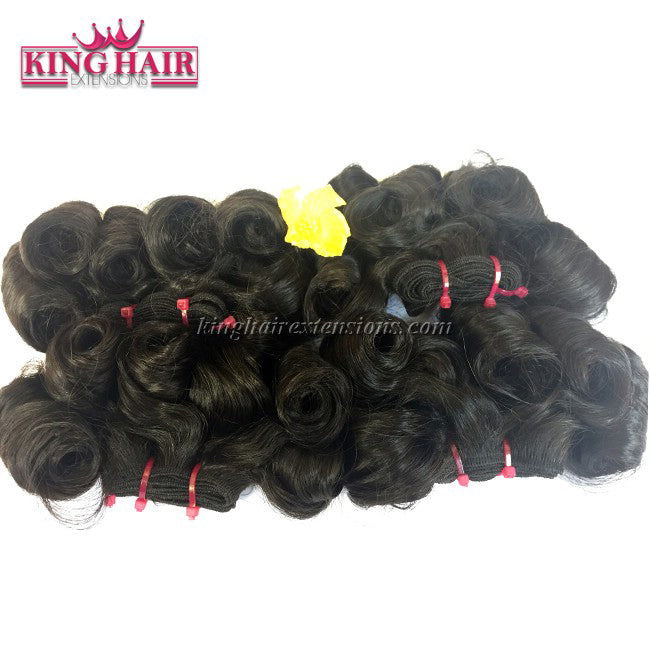 22 inch SUPER DOUBLE VIETNAMESE HAIR CURLY SF4 - King Hair Extensions