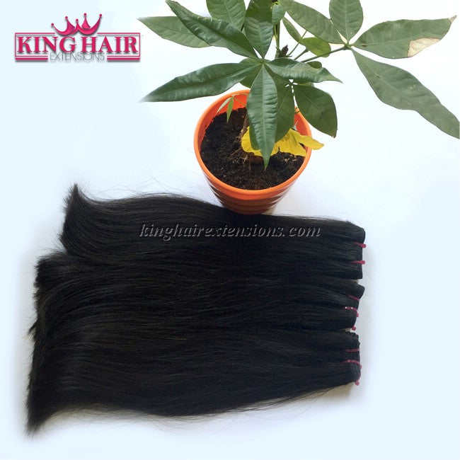 20 inch SUPER DOUBLE VIETNAMESE HAIR STRAIGHT STC3 - King Hair Extensions