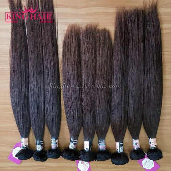20 INCH VIETNAMESE HAIR STRAIGHT DOUBLE DRAWN