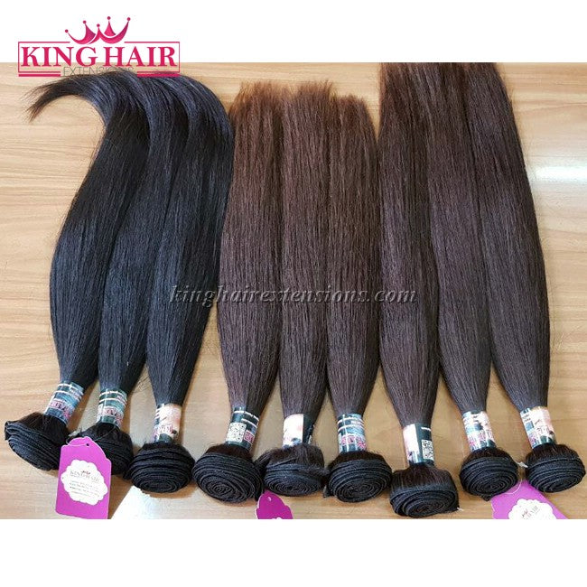 8 INCH VIETNAMESE HAIR STRAIGHT DOUBLE DRAWN