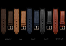 Italian Calf Leather watch straps - MHD Watches