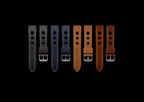 Calf Leather Rally straps - MHD Watches