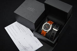 MHD Type 1 watch in display box- watch papers