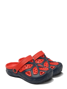 Kids Lightweight Clogs - Navy/Red