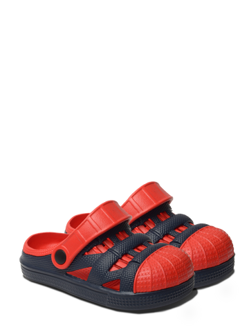 Kids Lightweight Sandals - Navy/Red
