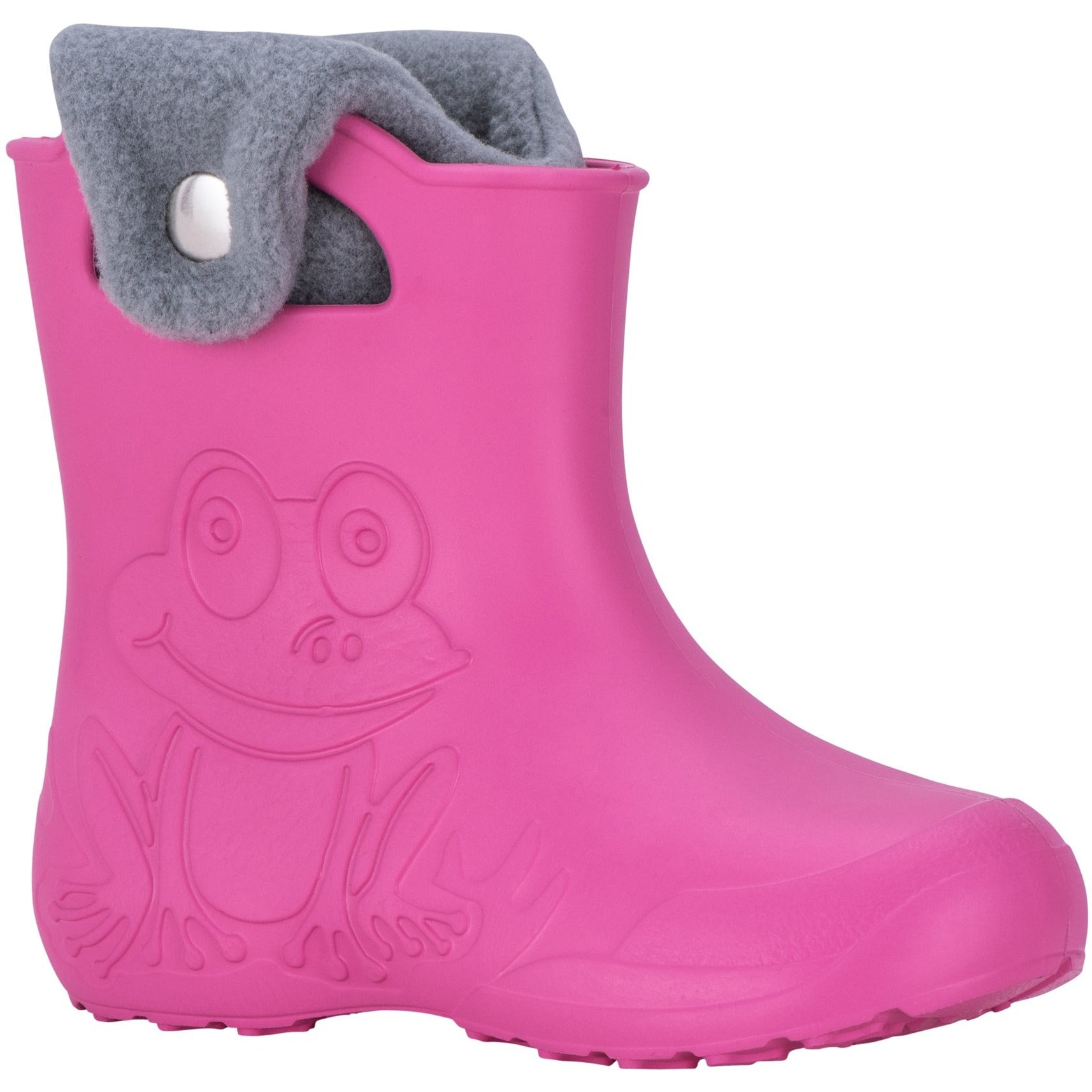 Kids Froggy Gumboot - pink