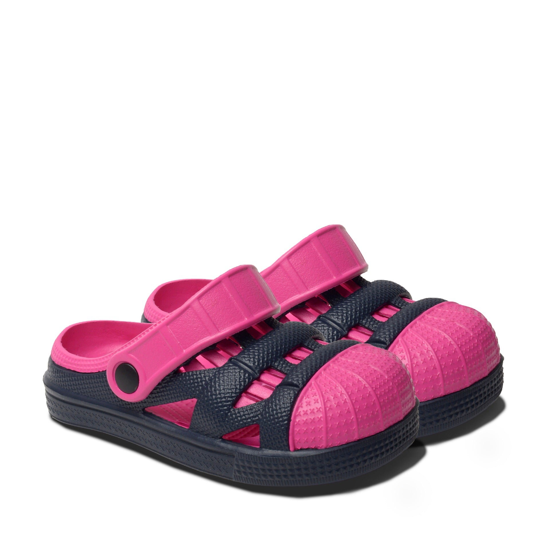 Kids Lightweight Sandals - Pink/Navy