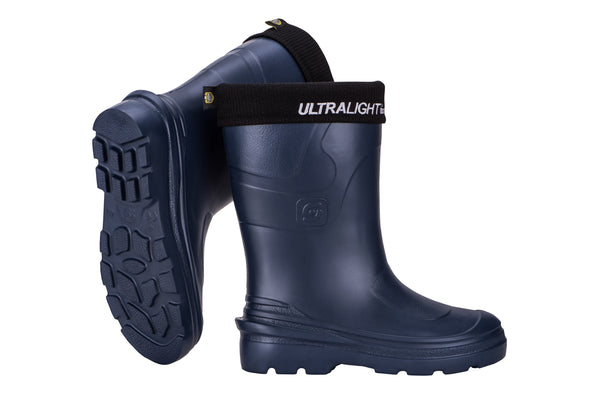 Ladies Montana Ultralight Gumboot - navy - size 40 only