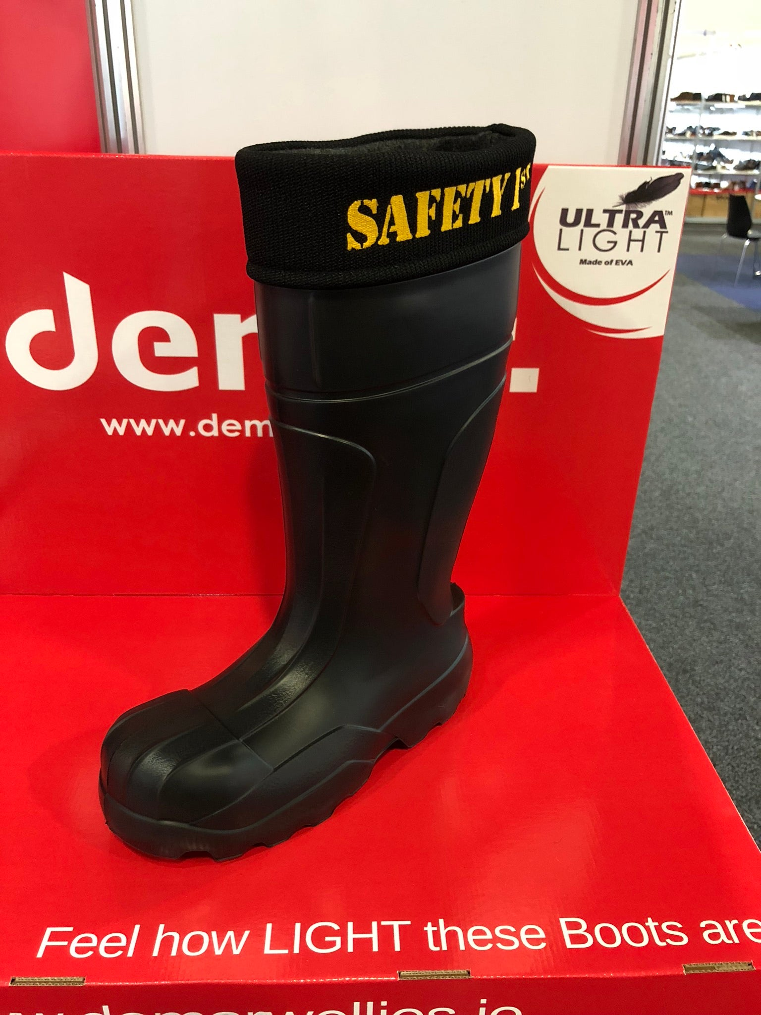Ultralight Safety Gumboots