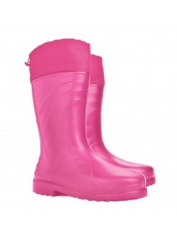 Ladies Luna Gumboot - pink