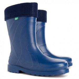 Ladies Luna Gumboot - navy