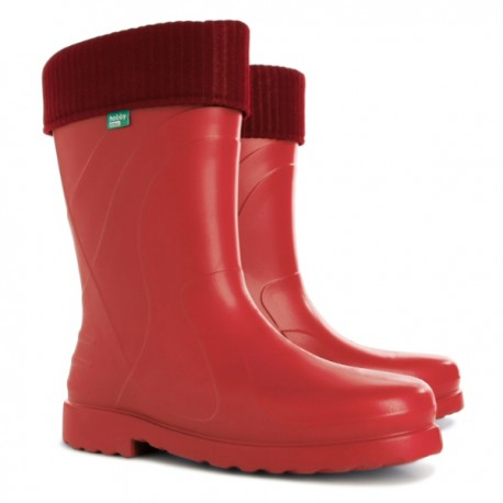 Demar Ladies Luna Gumboot - red