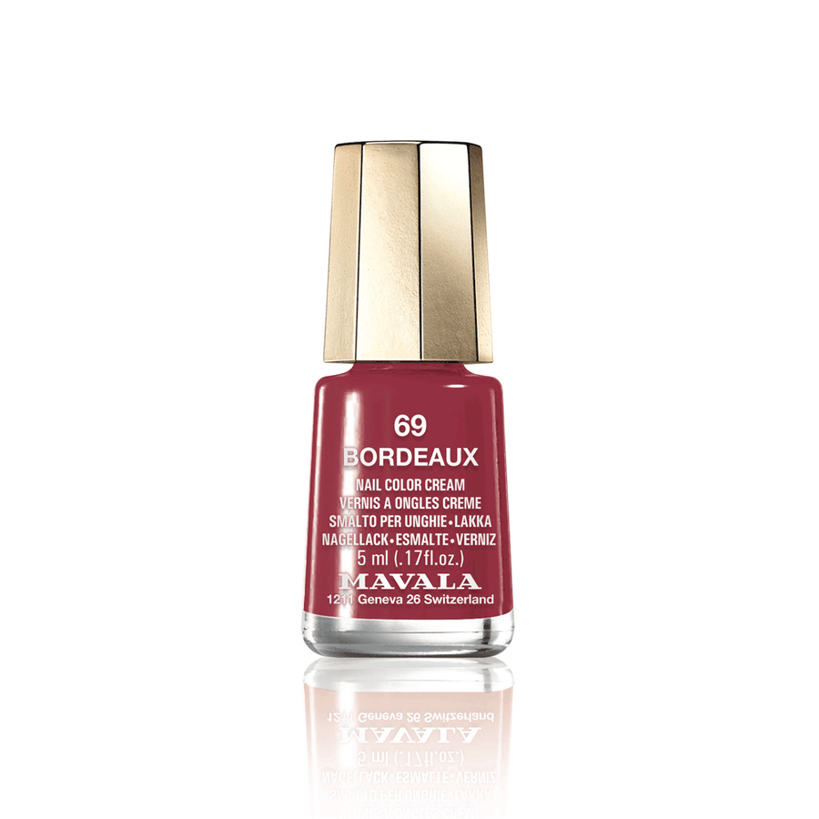 Mini Color Nail Polish - BORDEAUX