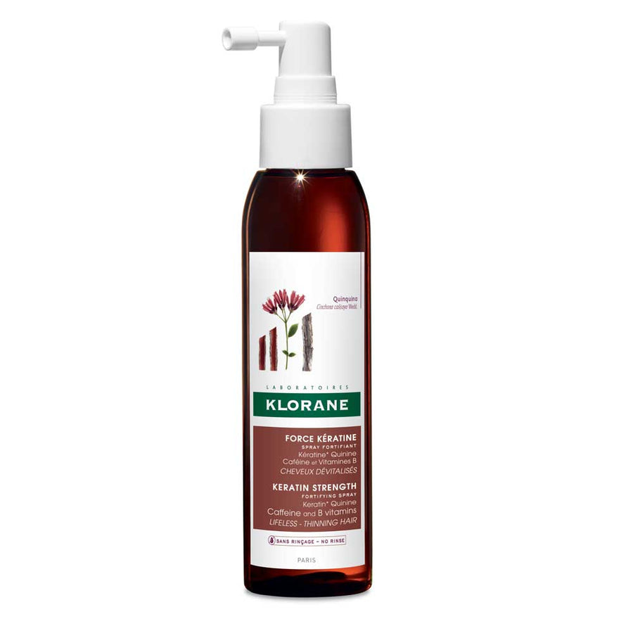 Quinine Keratin Strength Fortifying Spray