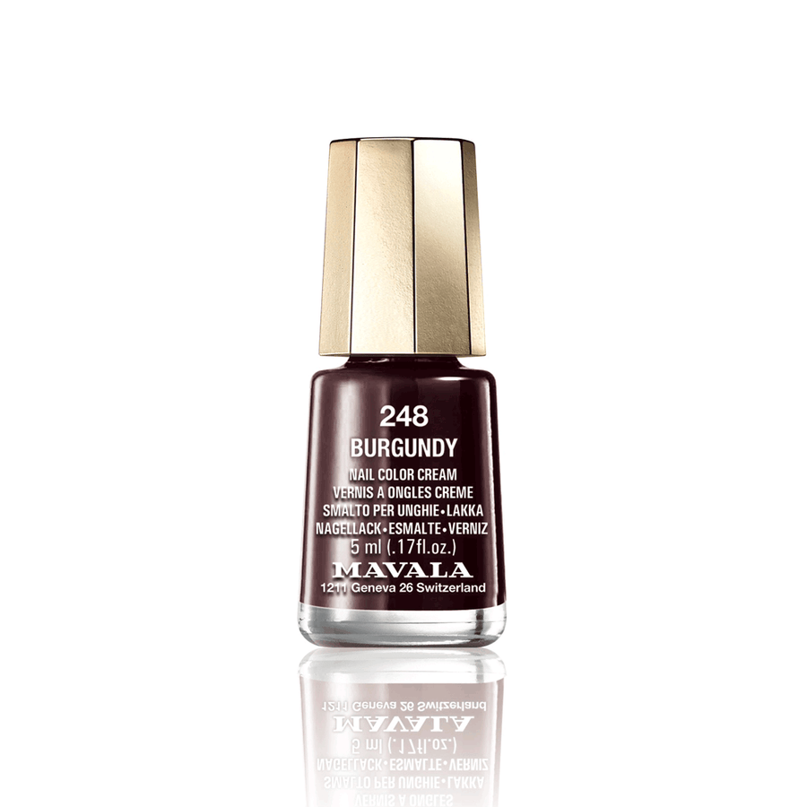 Mini Color Nail Polish - BURGUNDY