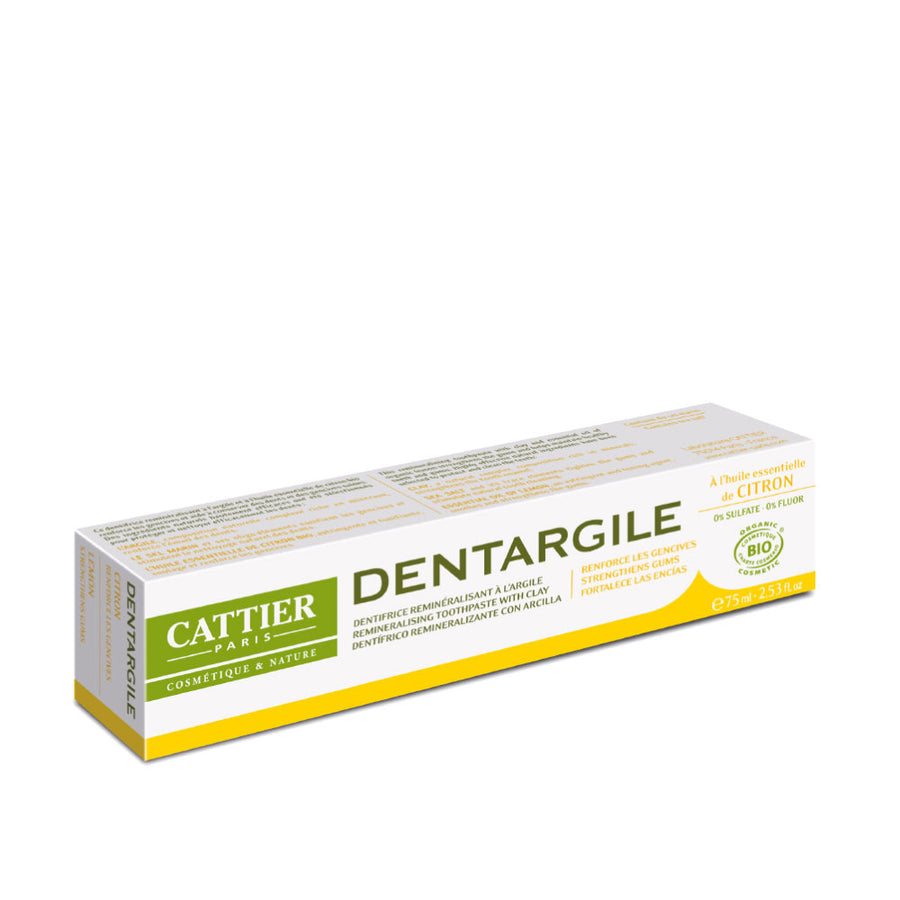 Gum Strengthening Lemon Toothpaste - French Beauty Co.