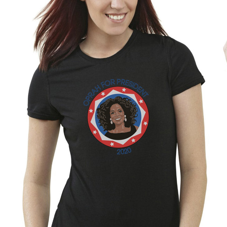 7ab7f2cc Oprah For President Unisex T-shirt - Tees and More