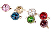 Classic Crystal Brooch in Different Coloures