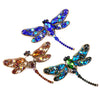 Luxury Dragonfly Brooch for Hijab