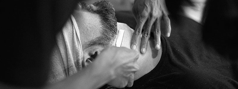 Book a wet shave with Quarters Edinburgh Barber