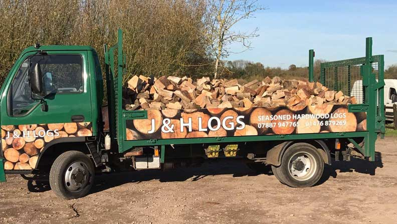 logs delivered by j and h logs
