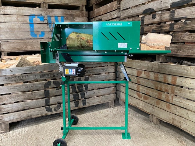 J&H Logs Professional Firewood 7 Ton Log Splitter