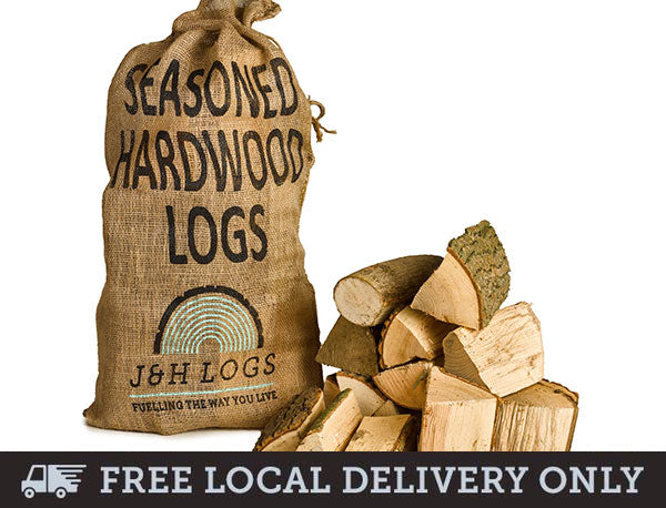 Seasoned Hardwood Logs - Hessian Sack