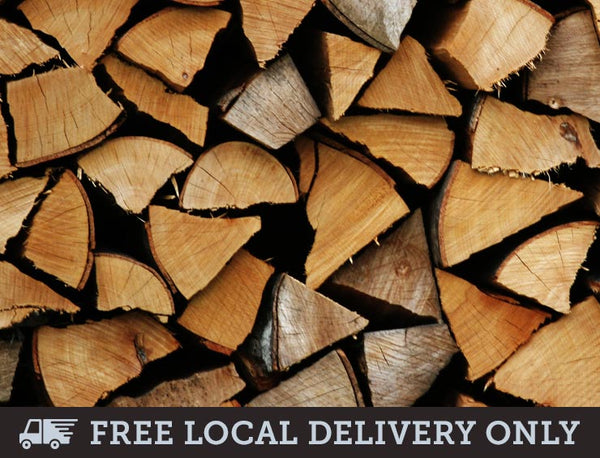 Premium Kiln Dried Hardwood Logs - Builder's Tonne
