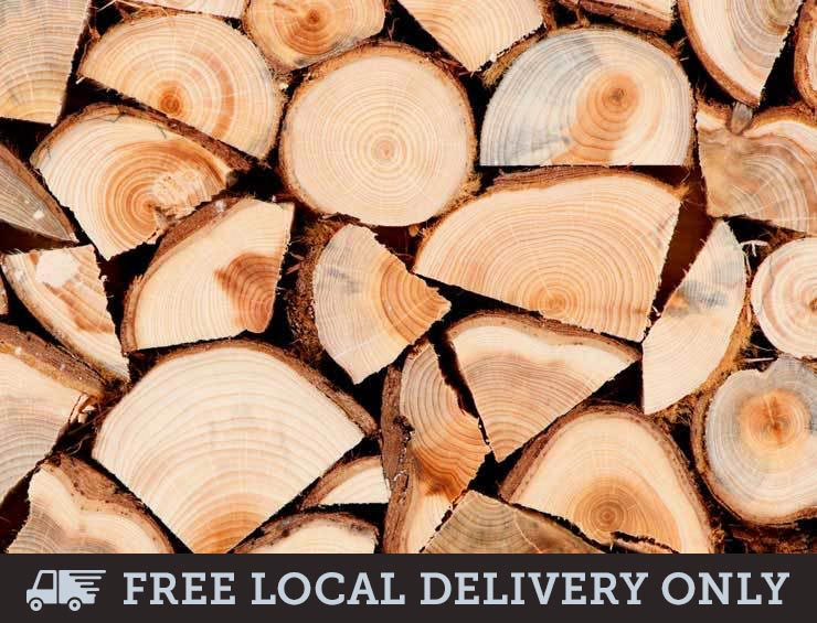 Seasoned Hardwood Logs - Builder's Tonne