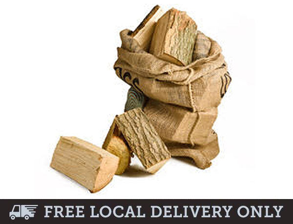 Kiln Dried Hardwood Logs - Hessian Sack