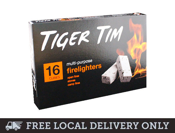 Tiger Tim Firelighters - 16 per pack