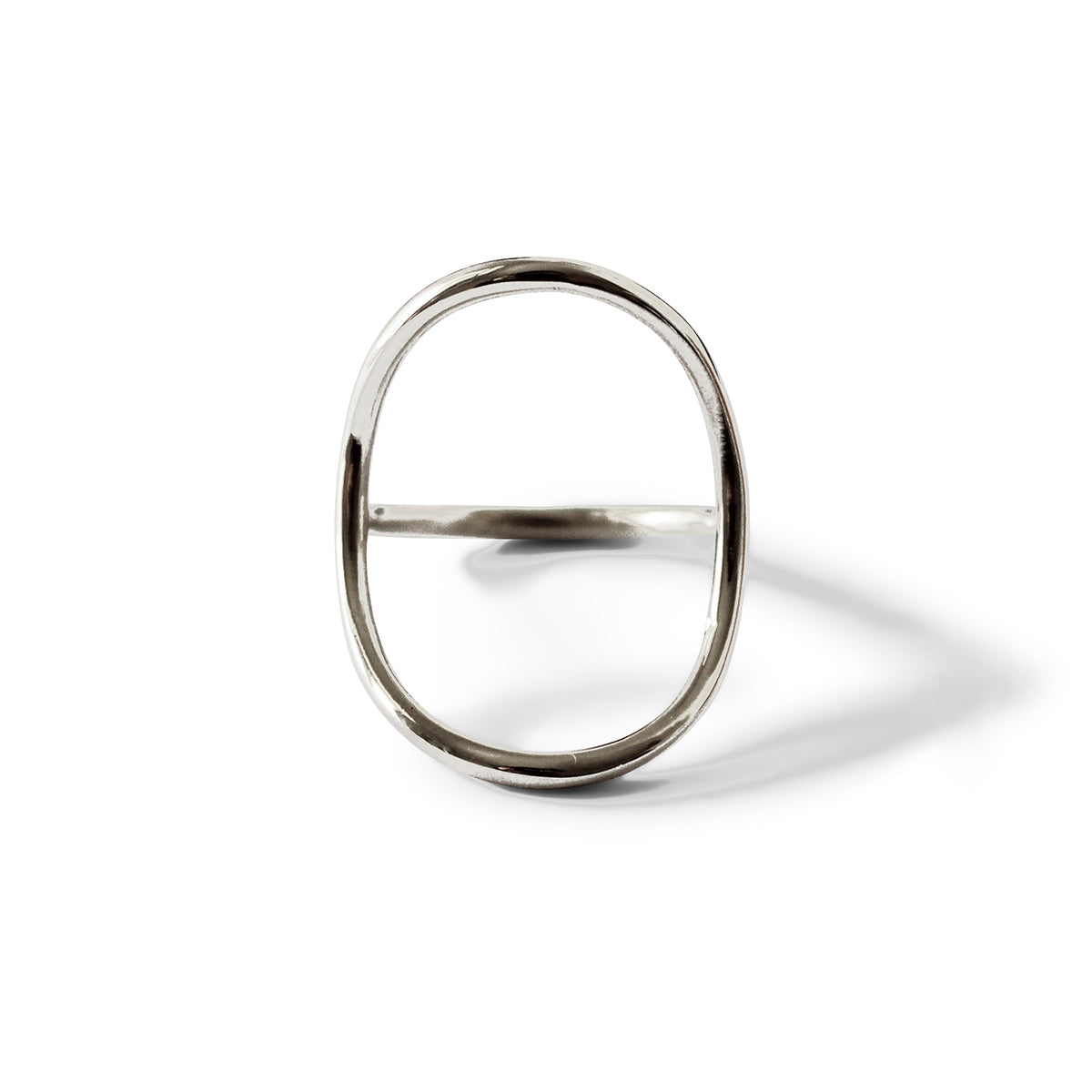 Arch Envelope Ring - Sterling Silver