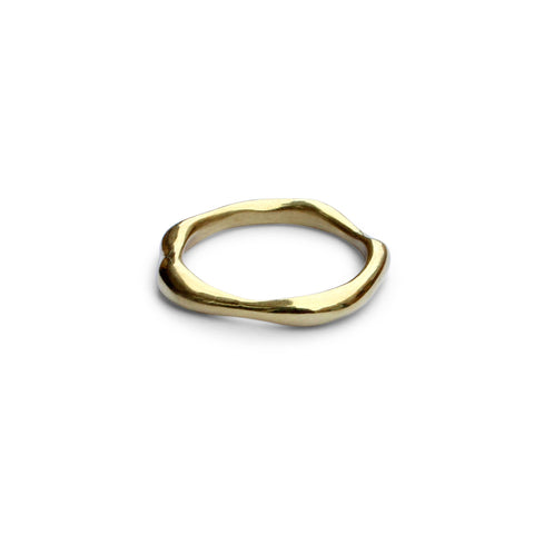 Arch Envelope Ring - Solid Rose Gold