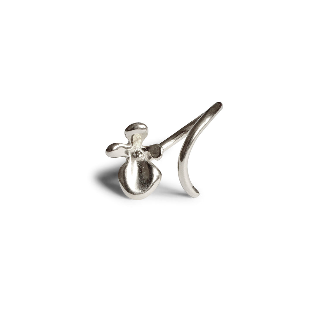 Dancing Orchid Ring - Sterling Silver