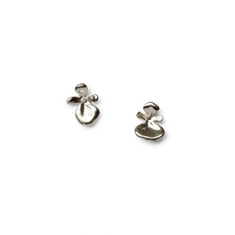 Serenity Stud Earrings -  Sterling Silver