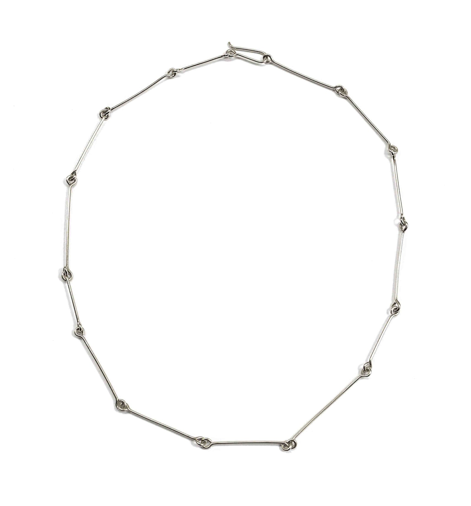 Fine Connection Choker - Sterling Silver