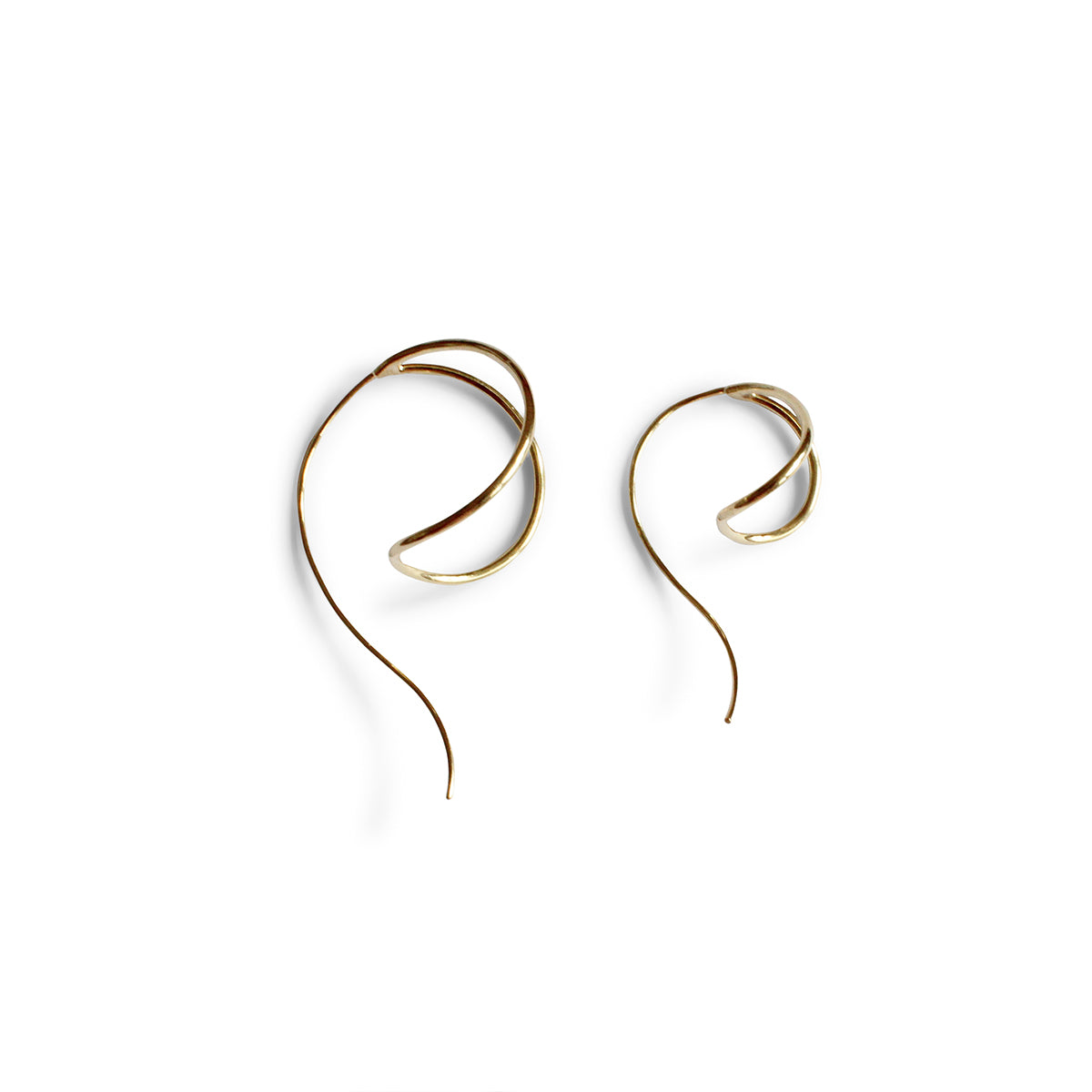 Lan Mismatch Earrings - Solid Gold