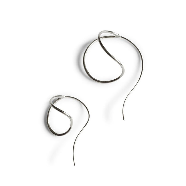 Lan Mismatch Earrings - Sterling Silver