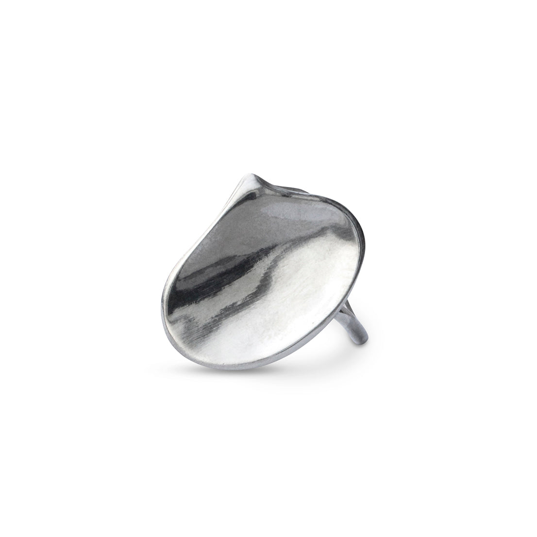 Moth Orchid Petal Ring - Sterling Silver