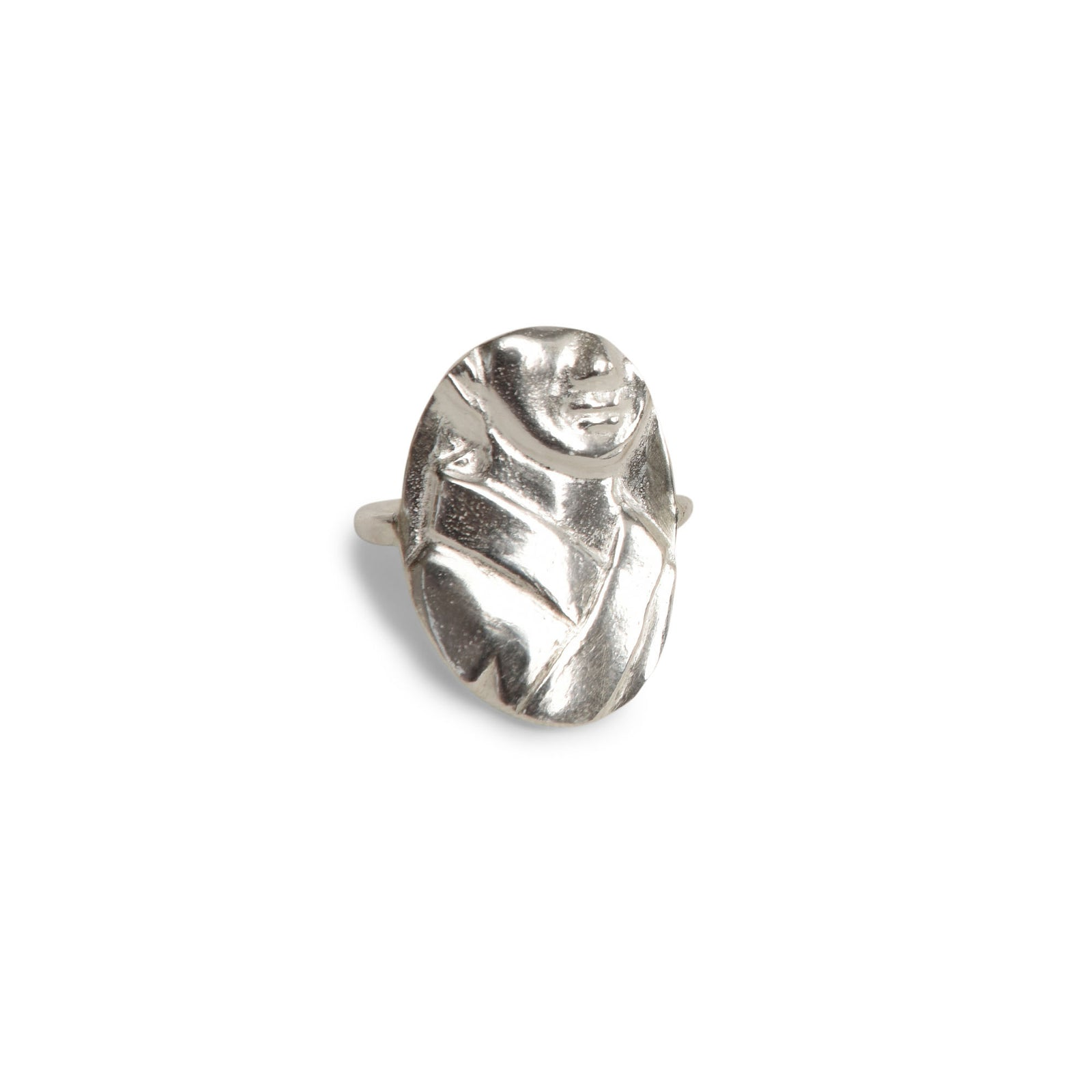 Portrait Ring - Sterling Silver