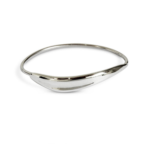 Floating Arch Cuff - Sterling Silver