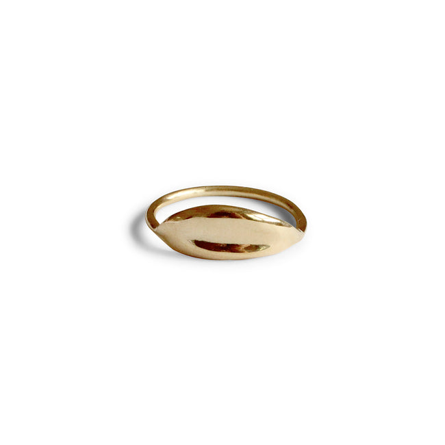 Serenity Band Ring - Solid Gold